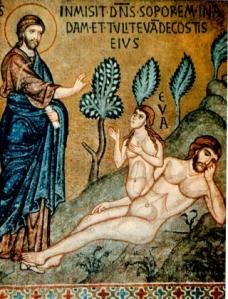 while-adam-sleeps-eve-is-formed-from-one-rib-late-12th-c